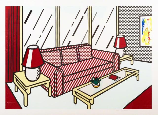 Roy Lichtenstein, 'Red Lamps', 1990, Upsilon Gallery