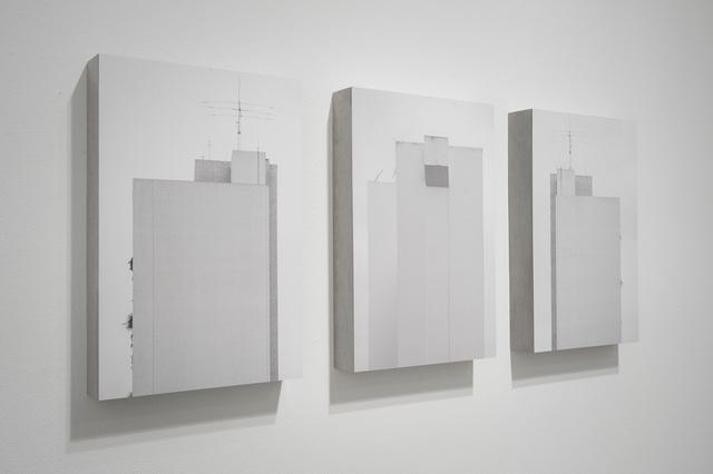 , 'Políptico Campo Cego 3 peças,' 2014, Galeria da Gávea