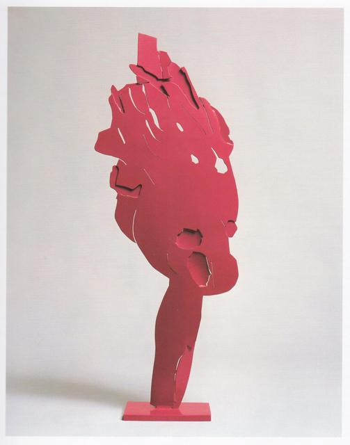 , 'Ferro trasparente fucsia ,' 1966, Galleria Tega