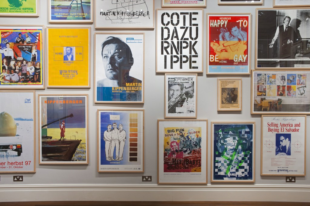 Martin Kippenberger The Posters And Invitation Cards 1977 1997