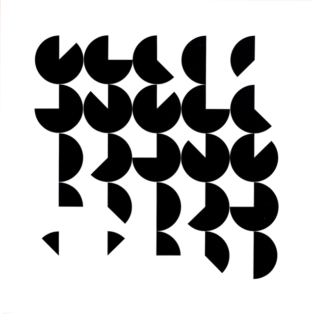 , 'Black and White Rotation,' 1987, Zuleika Gallery