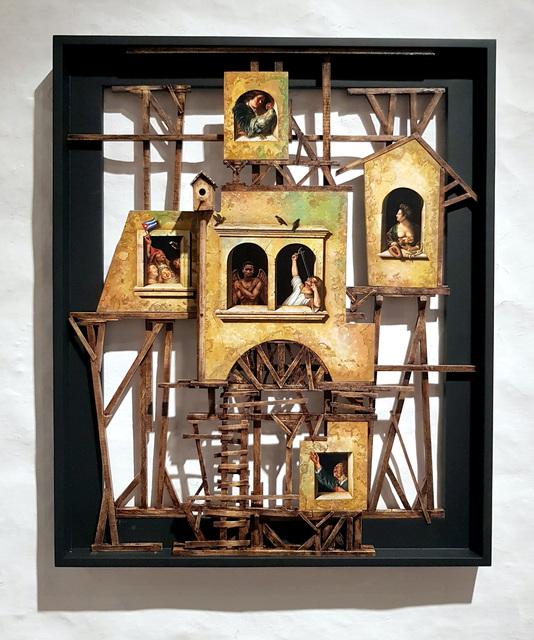 , 'Babel,' 2018, Galería Artizar