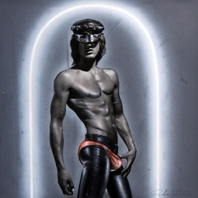 , 'Self Portrait in Black Cap,' ca. 1970, ClampArt