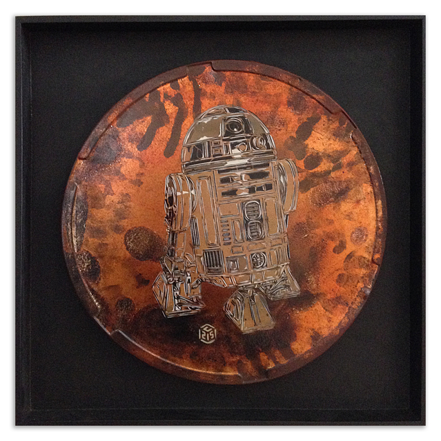 , 'R2d2,' 2014, StolenSpace Gallery