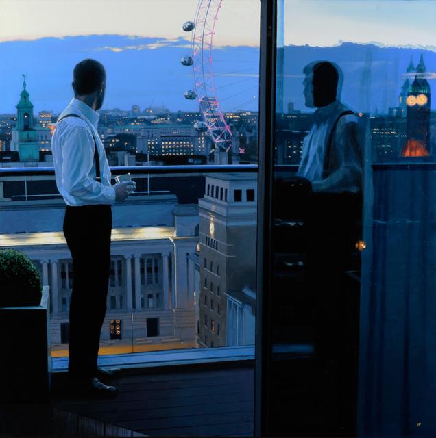 , 'London Evening,' 2016, Pontone Gallery