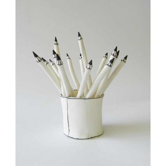 , 'Pot of Pencils,' 2018, Long & Ryle