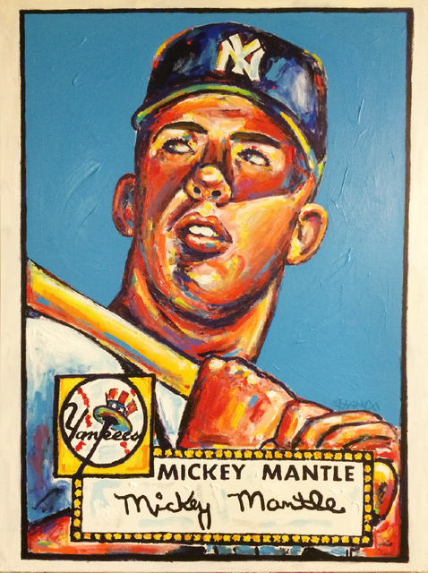 , 'Mickey Mantle,' 2018, Artist's Proof