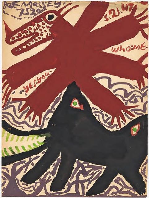 ", '""Yes. you"",' 1946, Ricco/Maresca Gallery"