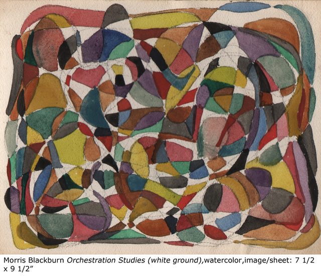 , 'Orchestration (study,white ground),' , Dolan/Maxwell