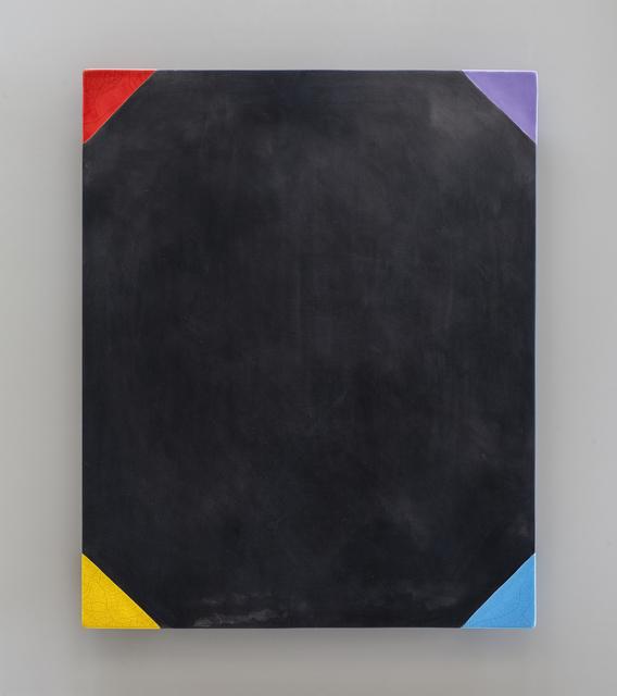 , 'UNTITLED (RAKU WALL SLAB),' 2013, Traver Gallery