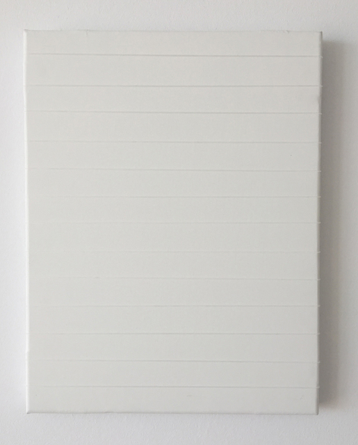 Alberto Gil Cásedas, '0 4875 1', 2019, Painting, Canvas and silicone band, SET ESPAI D'ART