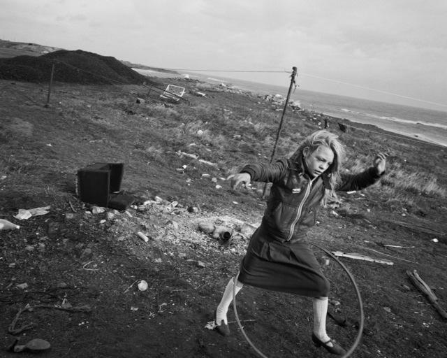, 'Helen and her hoola-hoop, Lynemouth, Northumberland,' 1984, Yossi Milo Gallery