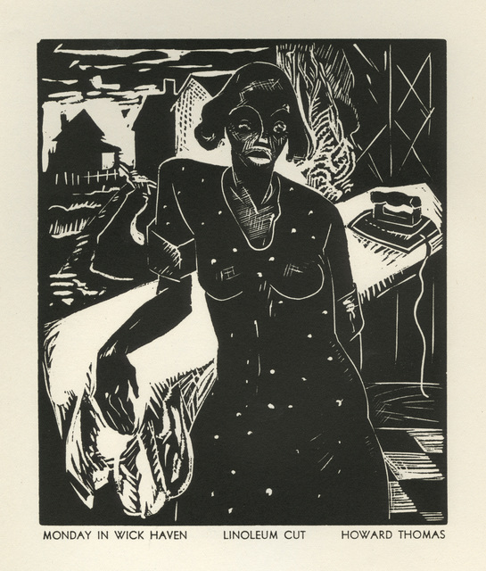 Howard Thomas, 'Monday in Wick Haven', 1936, David Barnett Gallery