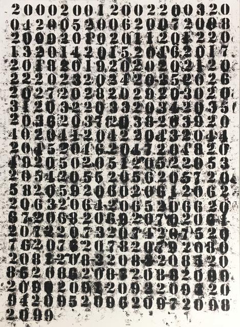 Glenn Ligon, '200 - 2099', 2011, Hamilton-Selway Gallery Auction