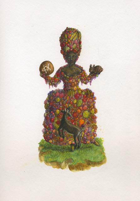 , 'Queen of Pentacles,' , ArtYard