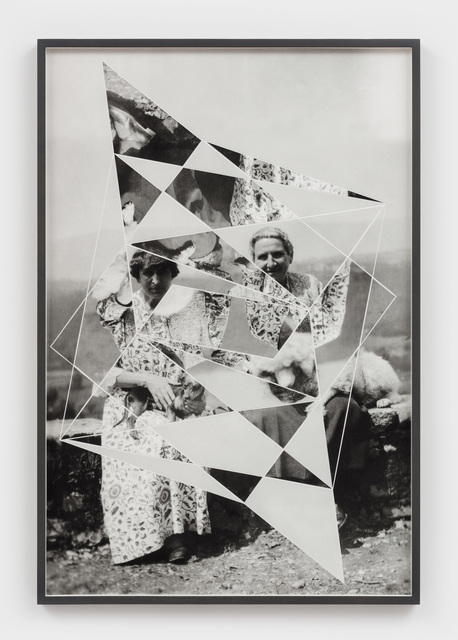 , 'Constellations (Alice B. Toklas and Gertrude Stein with Pepe and Basket),' 2018, Hales Gallery