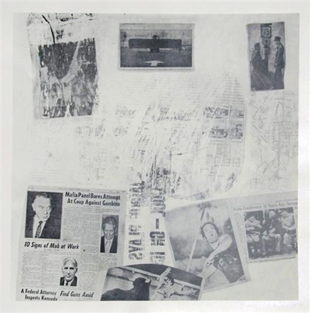 Robert Rauschenberg, 'Features From Currents #72', 1970, Jim Kempner Fine Art