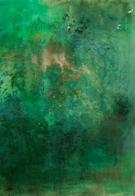 , 'Emerald Sea II,' 2013, Wide Painting