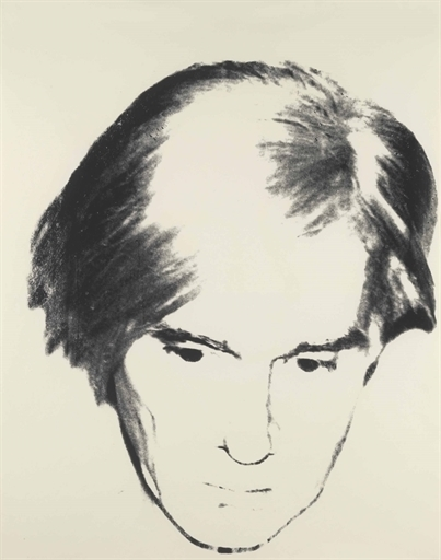Andy Warhol, 'Self-Portrait', Silkscreen ink on paper, Christie's