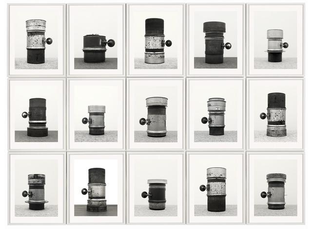 , 'Objektiv, After Bernd & Hilla Becher,' 2015, Galerie Christophe Gaillard