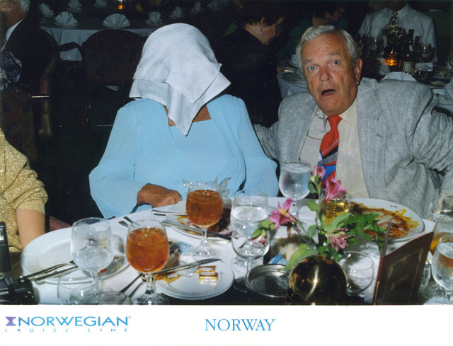 , 'Ian Hughes American Passengers Onboard The S/S Norway Cruise Ship, Caribbean Sea., 1994 ,' 1994, Magic Beans