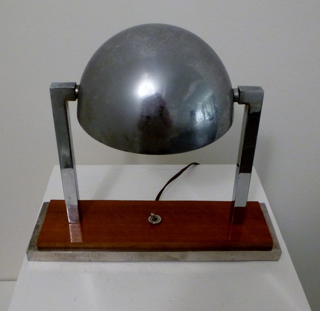 ", 'Desk Table Lamp ""Diane"", by Jacques Adnet,' ca. 1930, Avant-Garde Gallery"
