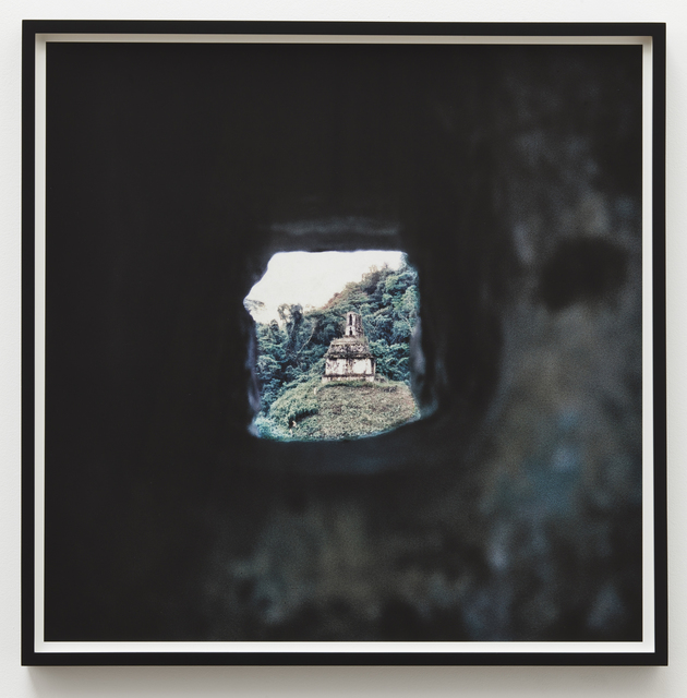 , 'Ruin View,' 1969, Parafin