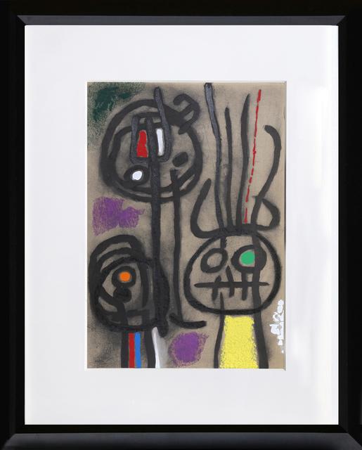 Joan Miró, 'Cartones 17: Personnage et Oiseau', 1965, RoGallery