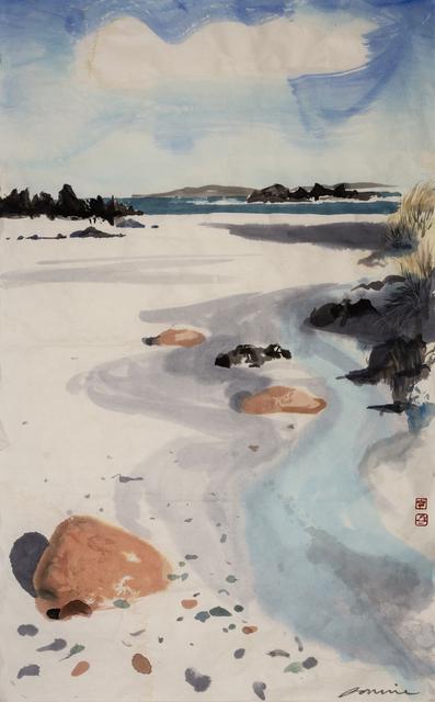 , 'Three Calm Pink Stones (Iona),' 2018, Tatha Gallery