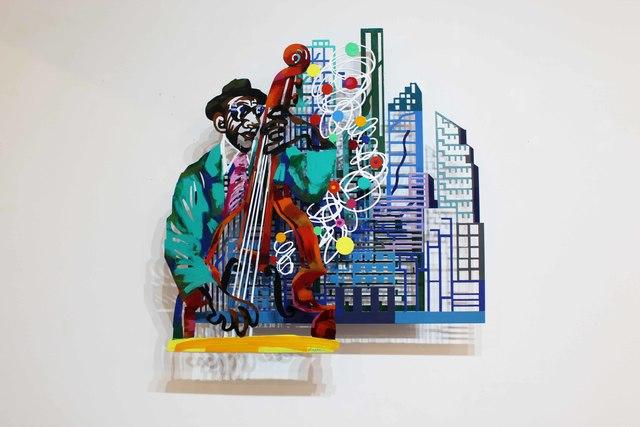 David Gerstein, 'Jazz and the city - Contrabass', 2004, Galerie Duret