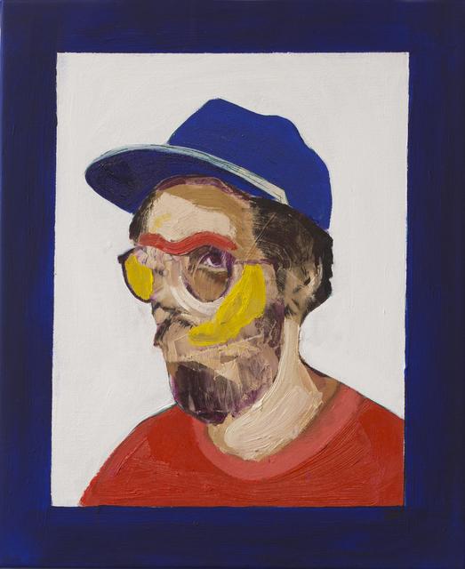 , 'Moldando Pedra Bruta, Self-portrait,' 2017, Lois Lambert Gallery