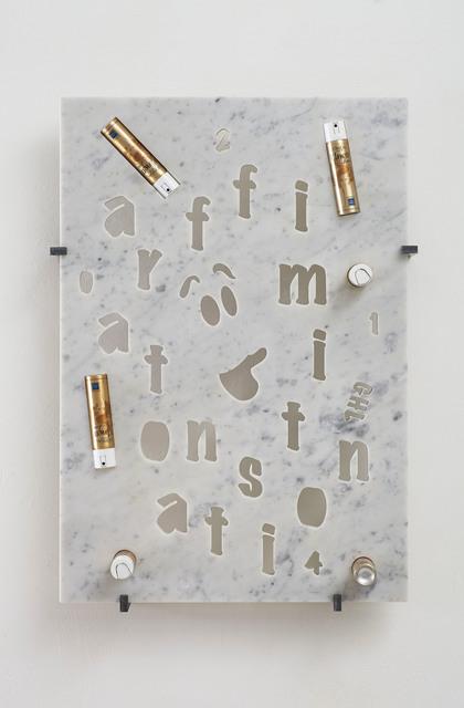 , 'affirmation station,' 2014, Jonathan Viner