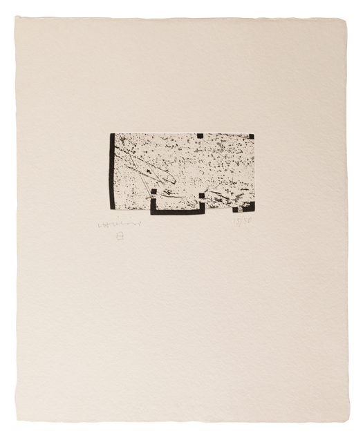 Eduardo Chillida, 'Itsasoratu I', 1998, Zeit Contemporary Art