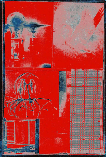 Robert Rauschenberg, 'Rauschenberg Spreads and Scales (Castelli Invitation) ', 1977, Posters, Off-set print in colors on foil-based card stock, Lot 180