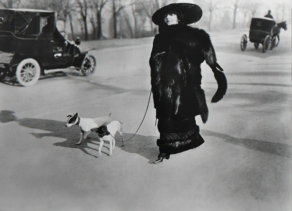 Jacques Henri Lartigue, 'Avenue du Bois de Boulogne Paris, January 15,' 1911, G. Gibson Gallery