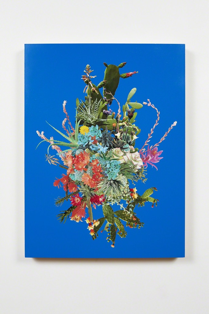 Stephen Eichhorn, 'Cacti & Succulents Clusters (Blue),' 2012-2013, CES Gallery
