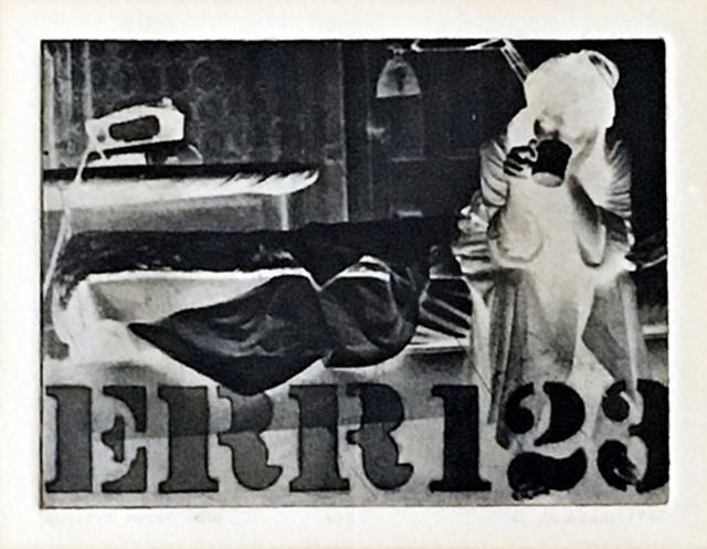 Robert Indiana, 'ERR (Sheehan 29) ', 1963, Alpha 137 Gallery