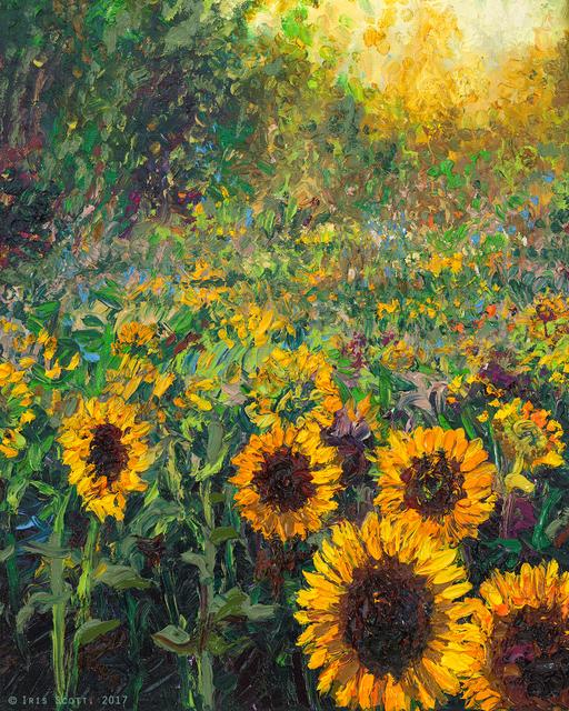 , 'Helios Sunflower (Embellished Artist's Proof),' 2018, Filo Sofi Arts