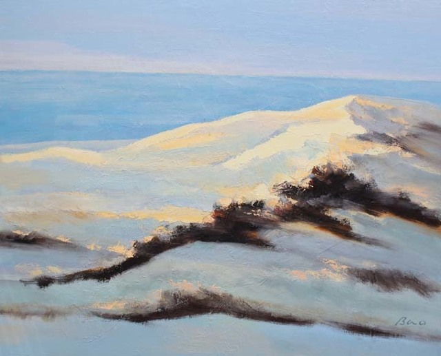 , 'Fly Over the Dunes- Cool Morning Breeze,' 2018, Tao Water Art Gallery