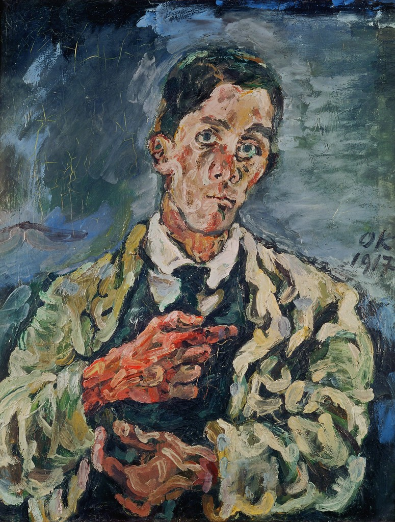 "a biography of oskar kokoschka an austrian artist poet and playwright This characterization is supported by the artist's few extant letters and notes   works by his contemporaries — most notably oskar kokoschka, egon schiele,   kokoschka, born in 1886, worked in the same period of feverish creative  a poet  and playwright as well as a painter, his portrait ""rudolf blümner."