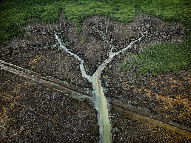 , 'Oil Bunkering #2, Niger Delta, Nigeria,' 2016, Robert Koch Gallery