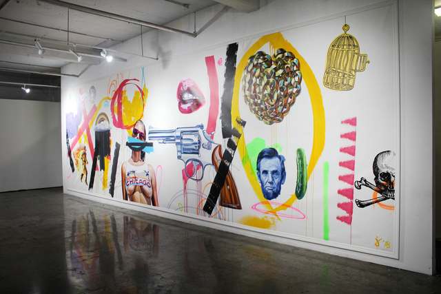 , 'Sorry Not Sorry,' 2018, Gallery at Zhou B Art Center