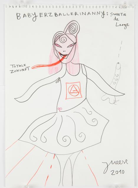 ", '""The strawberry-wicker-man-baby""-Serie 1,' 2010, Galerie Krinzinger"