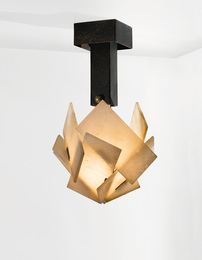 Pierre Chareau, 'Ceiling Light, ModelLP270,' circa 1923, Sotheby's: Important Design