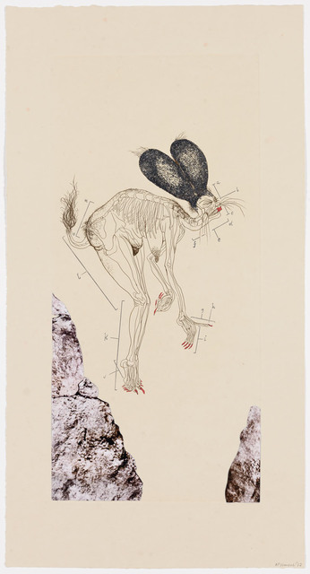 Wangechi Mutu, 'The Original Nine Daughters ', 2012, Print, One from a suite of nine etchings with aquatint, linocut and collage.  Available only as a set of nine., Pace Prints