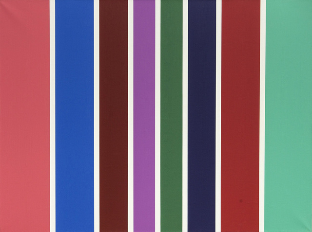 , 'Lines of color 4,' 2011, Pop/Off/Art