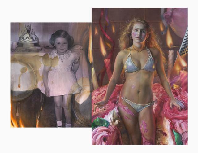 , 'Barbie Cake (Diptych),' 2019, RJD Gallery