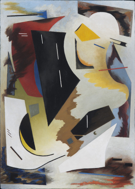 , 'Colorstructive Abstraction (white, black, red, blue & yellow),' 1944, Washburn Gallery