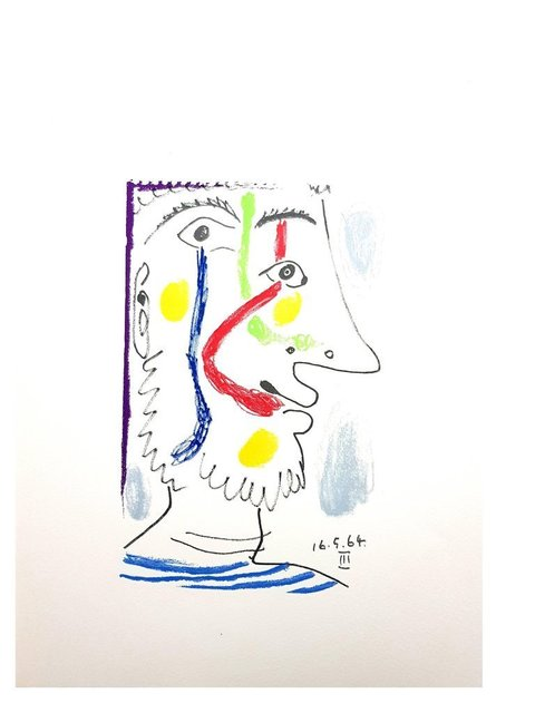 """Pablo Picasso, 'Lithograph """"Le Goût de Bonheur VI"""" after Pablo Picasso', 1970, Galerie Philia"""