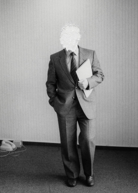 , 'Men in Suit,' 2018, GE Galería